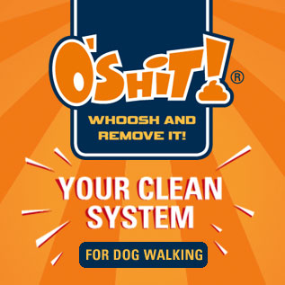 brand oshit - for dog walking